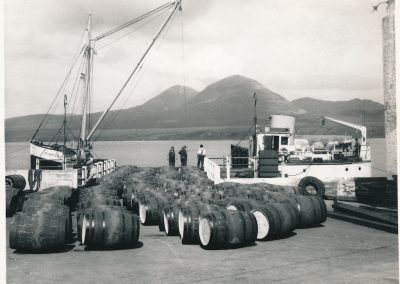 Port Askaig, loading whisky
