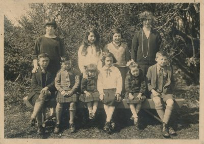 Kintour School group, c1925