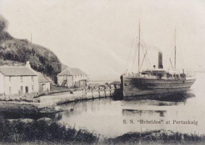 S.S. Hebrides, Port Askaig